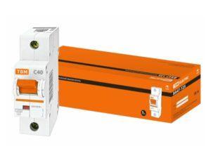Автоматический выключатель ВА47-125 1P 40А 15кА х-ка С