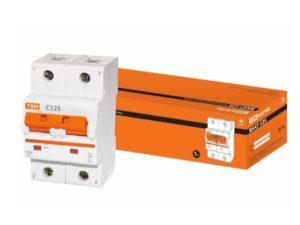 Автоматический выключатель ВА47-125 2P 125А 15кА х-ка С
