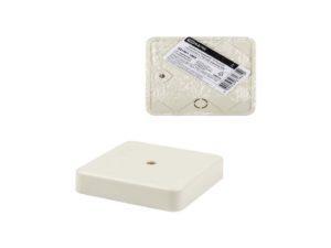 Коробка распаячная КР 75х75х20 ОП, сл. кость, IP40, инд. штрихкод TDM; SQ1401-1803