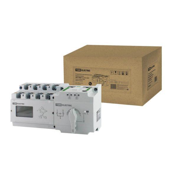 Устройство автоматического ввода резерва АВР-ПНД 4П 250А 380В с дисплеем TDM; SQ0743-0031