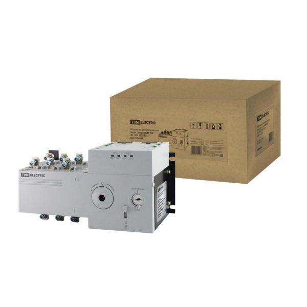 Устройство автоматического ввода резерва АВР-ПН 3П 160А 380В TDM; SQ0743-0033