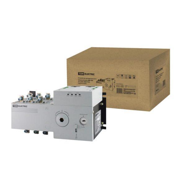 Устройство автоматического ввода резерва АВР-ПН 3П 250А 380В TDM; SQ0743-0034