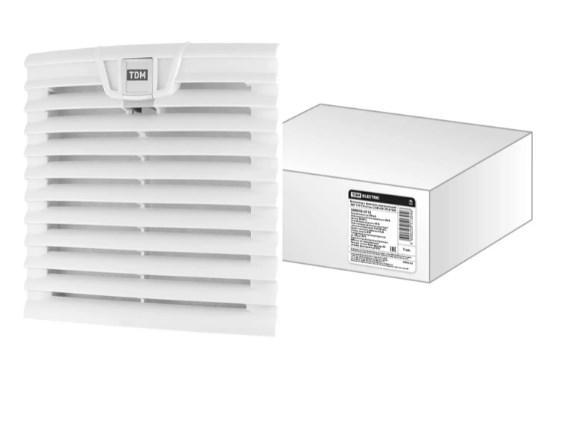 Вентилятор с фильтром универсальный ВФУ 170/139 м3/час 230В 45Вт IP54 TDM SQ0832-0112