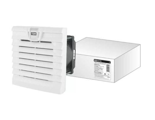 Вентилятор с фильтром универсальный ВФУ 19/13 м3/час 230В 12Вт IP54 TDM SQ0832-0110
