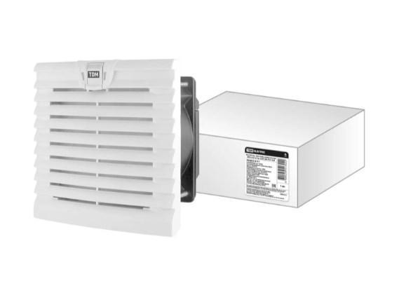 Вентилятор с фильтром универсальный ВФУ 52/42 м3/час 230В 19Вт IP54 TDM SQ0832-0111