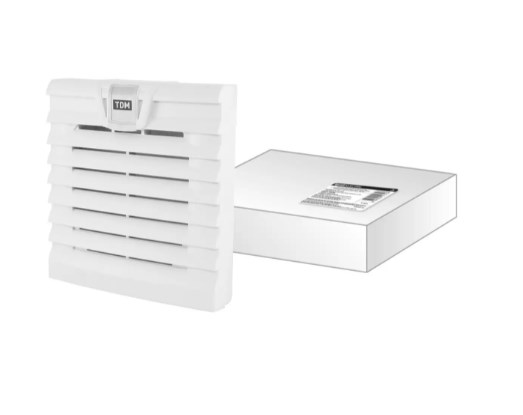 Вентиляционная решетка с фильтром для вентилятора ВФУ SQ0832-0110 (120 мм) TDM SQ0832-0115