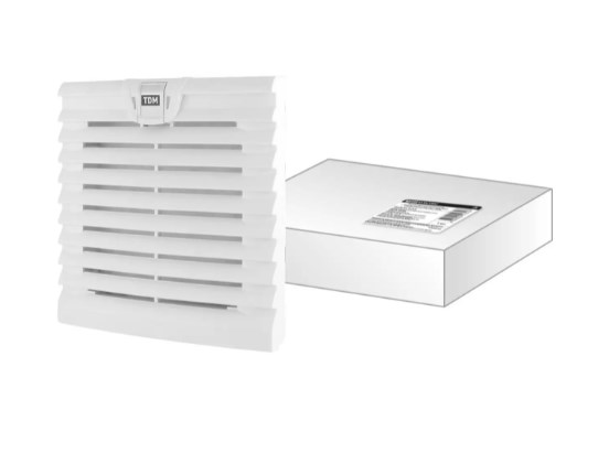 Вентиляционная решетка с фильтром для вентилятора ВФУ SQ0832-0111 (152 мм) TDM SQ0832-0116