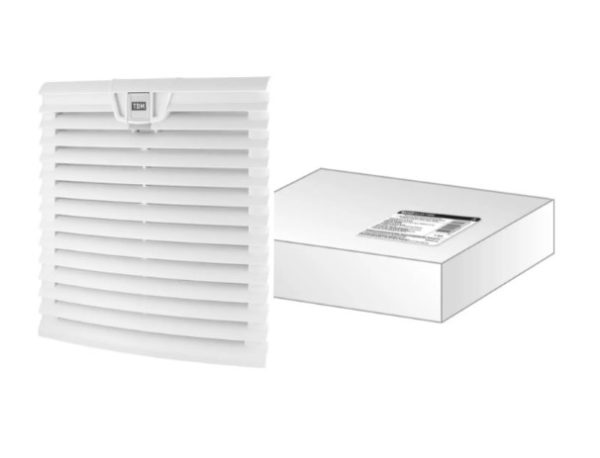 Вентиляционная решетка с фильтром для вентилятора ВФУ SQ0832-0113 (255 мм) TDM SQ0832-0118