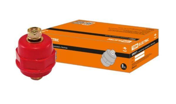 Изолятор SM51 силовой H51xD35xM10мм с болтом TDM SQ0807-0058